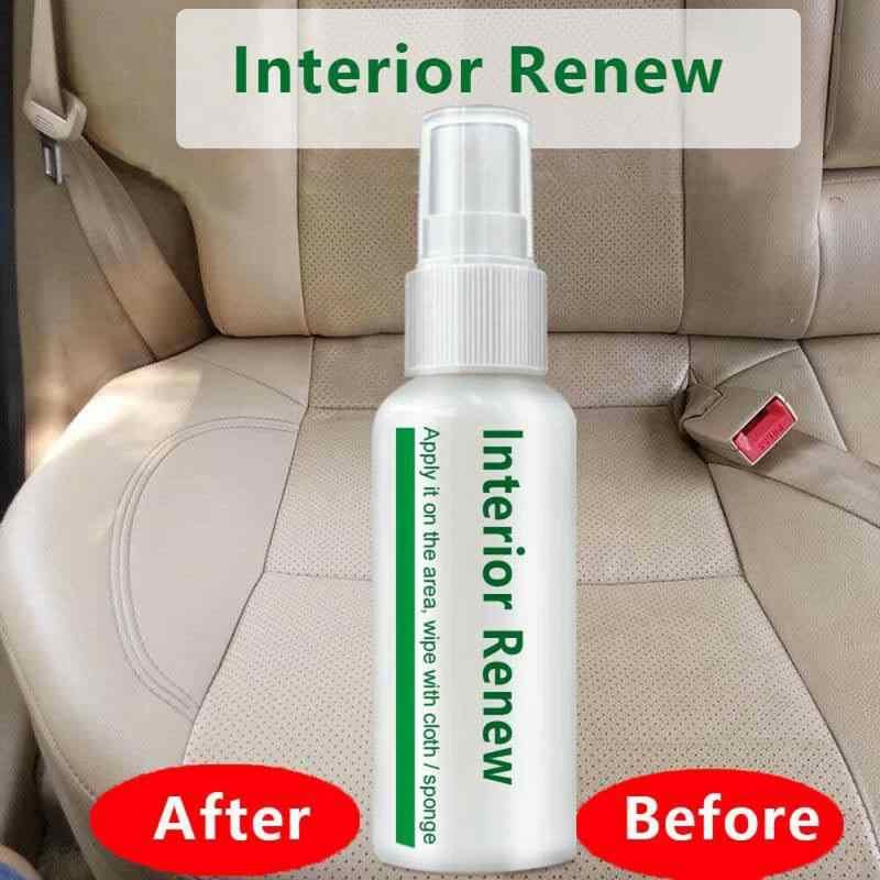 Auto Accessoires 10 Ml Auto Interieur Lederen Care Plastic Onderdelen Loopvlakvernieuwing Agent Window Cleaner Panel Wax Onderhoud Cleaner