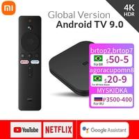 Xiaomi Mi TV Box S Android TV Box 8,1 Globale Version 4K HDR Quad-core Bluetooth 4,2 Smart TV Box 2GB 8GB DDR3 Wifi Smart control