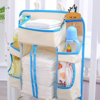 Multifunction Baby Bed Hanging Storage Bag Toy Diapers Pocket Infant Bedding Nappy Organizer Bag For Baby Hone Health Care