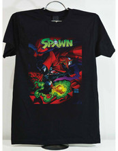 SPAWN VIOLATOR Large IMAGE-SHIRT todd Mcfarlane horror