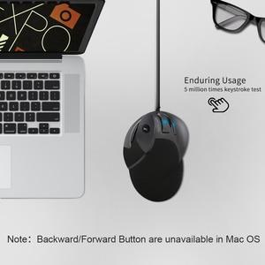 Image 5 - 2.4G ארגונומי אנכי עכבר 1600 DPI אלחוטי משחקים עם USB למחשב נייד למחשב
