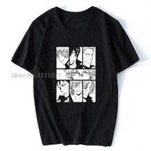 Camisa de algodão dos homens da arte do reborn de hitman t t camisa vermelha do reborn de hitman