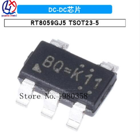 10Pcs RT8059GJ5 SOT23-5 RT8059 SOT SOT-23 New Original