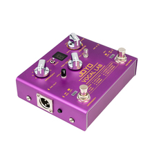 Joyo VOCAL Effect Pedal 9 Vocal Harmony Reverb Effect 48V Phantom Power AUX IN Support Headphone Output Vocal Guitar Pedal