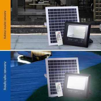 Solar Light Outdoors Street Lamp One Plus Two Household Courtyard Foco Solar Led Exterior Waterproof Modern