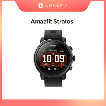 Oryginalny Amazfit Stratos Smartwatch inteligentny zegarek Bluetooth GPS liczba kalorii 50M wodoodporna dla Android iOS telefon