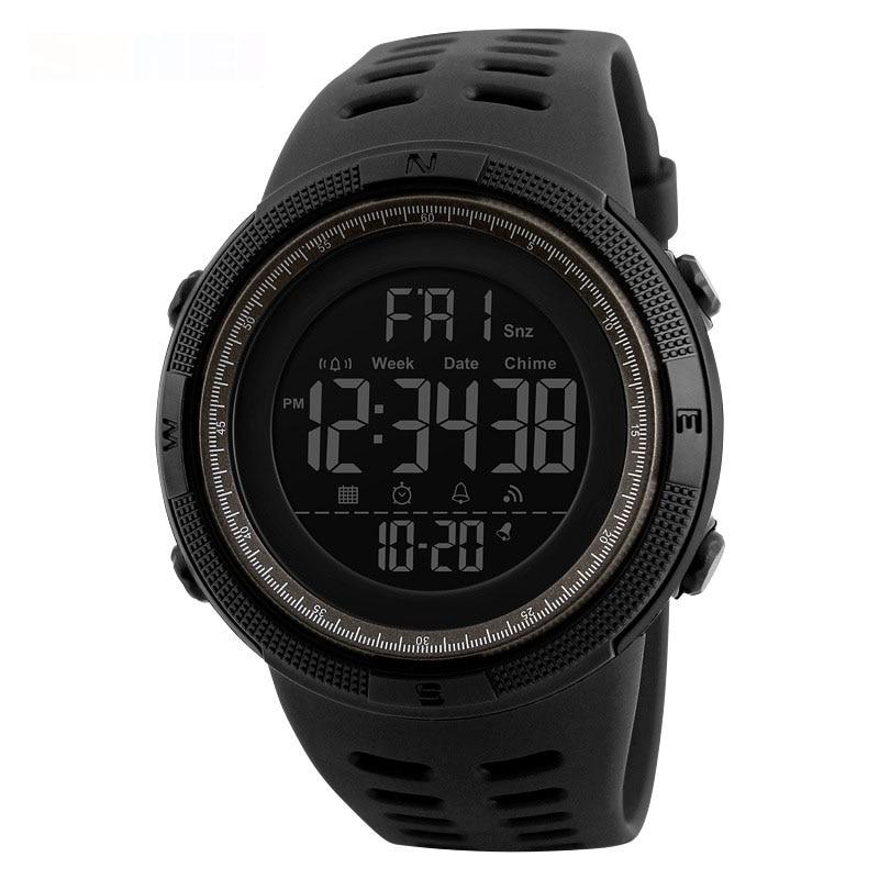 Sports Watches Military-Clock Masculino Waterproof Men Men's Fashion Chronos Relogio