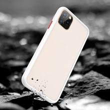 BenksสำหรับiPhone 11 สำหรับiPhone 11 ProสำหรับiPhone 11 Pro Max Frosted PC + TPUกรณีป้องกัน