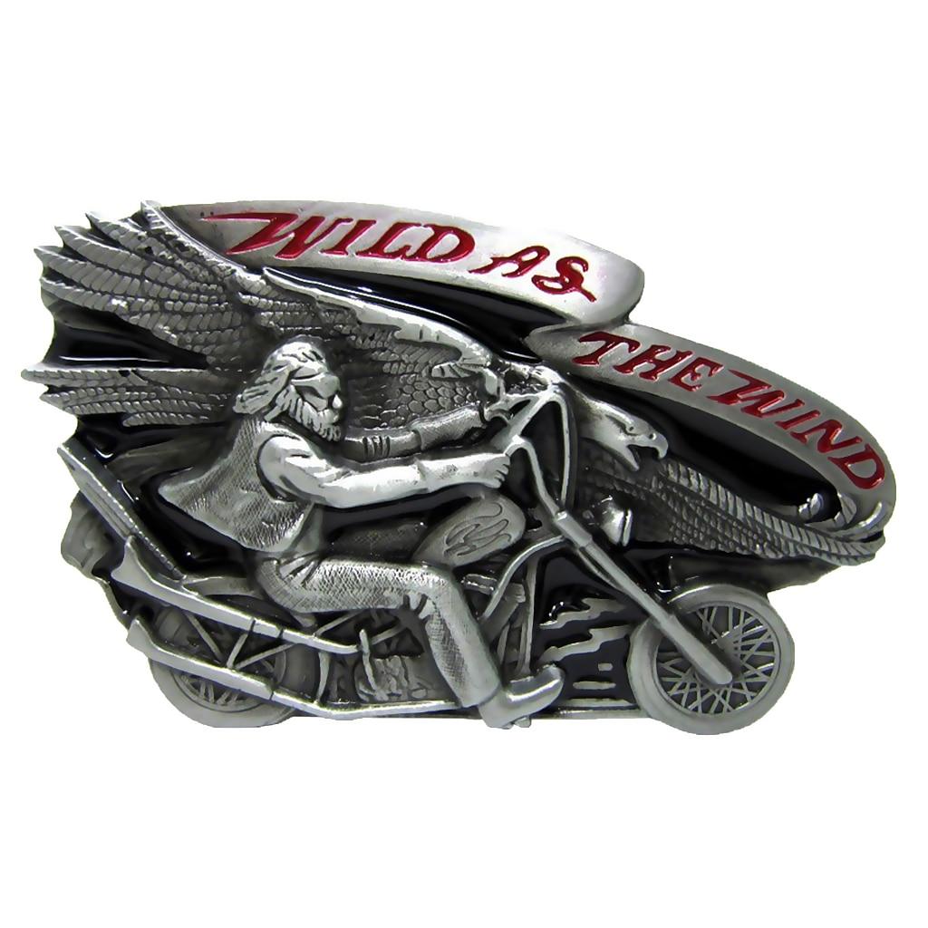 Cowboy Men's Belt Buckle Motorcycle Biker Style Oval Shape Men Accessories Man Novelty Cool Beltbuckekle ремень женский