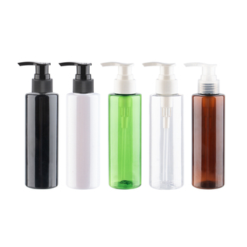 150ml Colored Empty Plastic Containers High Quality PET Lotion Pump Bottles Used For Shampoo Body Cream Shower Gel Liqiud Soap