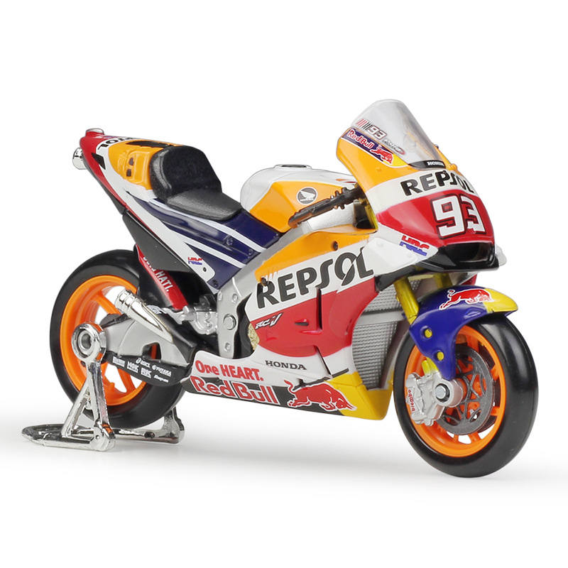 1:18 Maisto HONDA Repsol Team RC213V Racing #26 Dani Pedrosa #93 Marc Marquez Racing Motor Die-Cast Motorcycle
