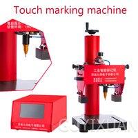 Tipo de toque máquina da marcação metal elétrico peças acessórios placa de identificação signage máquina de gravura máquina de escrever