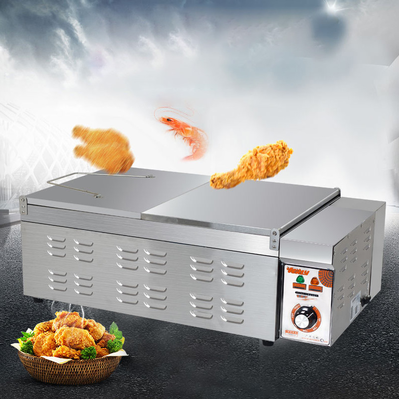 32L Capacity Commercial Electric Deep Fryer French Fries Frying Machine Oven Hot Pot Fried Chicken Grill