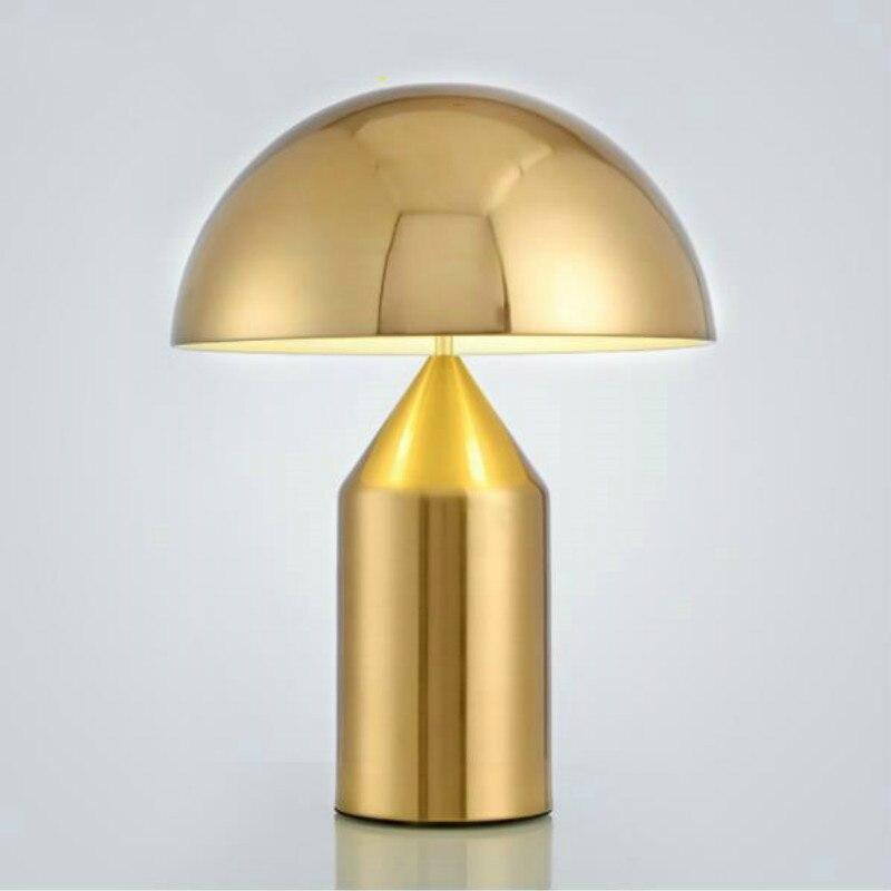 Minimalist Postmodern light bedroom study table light Nordic personality creative mushroom table lamps free shipping
