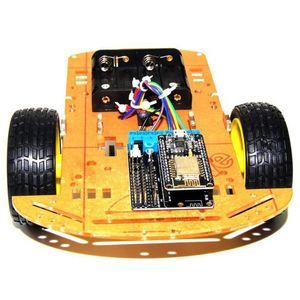 Умный автомобильный комплект ESP8266 WiFi управление Lua 2WD ESP NodeMCU умный автомобиль для Arduino