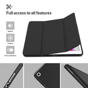 """Image 5 - Fall für iPad 10,2 2019 Neue Tablet,Generation 10.2 """", weiche TPU Zurück Schutzhülle Smart Fall mit Auto Wake/Sleep & Bleistift Halter"""