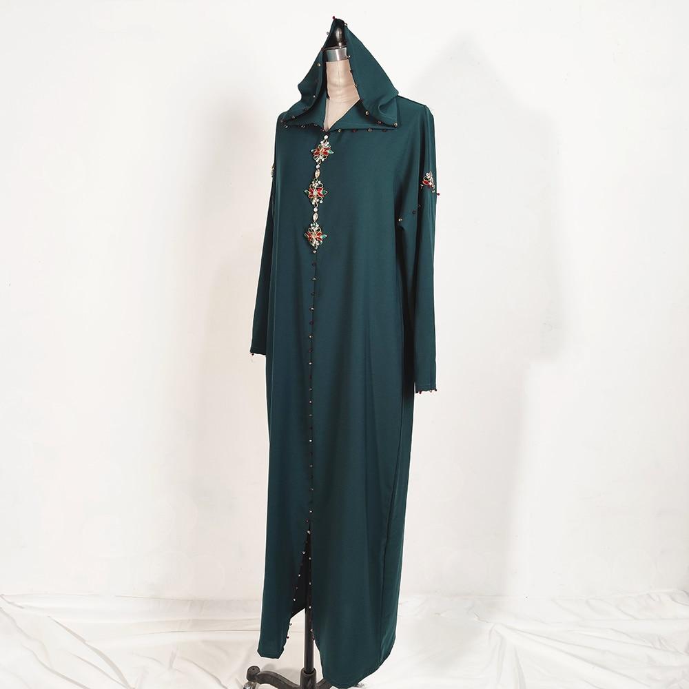 Dubai Abaya Turkey Hijab Muslim Dress Abayas Islam Clothing African Dresses For Women Robe Musulman De Mode Djellaba Femme Oman Women Women's Abaya Women's Clothings