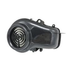 Аксессуары для мотоцикла, мотоцикл крышка вентилятора имитация углеродного волокна крышка вентилятора для YAMAHA JOG ZR EVOLUTION