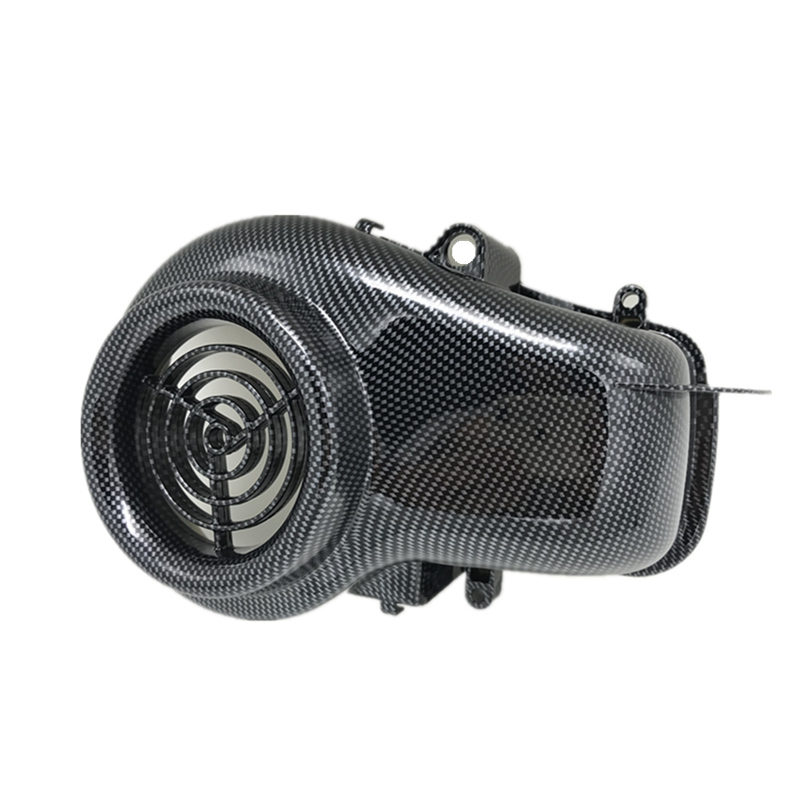 Motorcycle Accessories Motorcycle fan cover Imitation carbon fiber Fan Cover For YAMAHA JOG ZR EVOLUTION