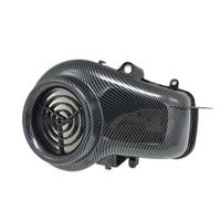 Tampa Do Ventilador tampa do ventilador Imitação de fibra de carbono Da Motocicleta Acessórios Da Motocicleta Para YAMAHA JOG ZR EVOLUTION|Capa ventilador| |  -