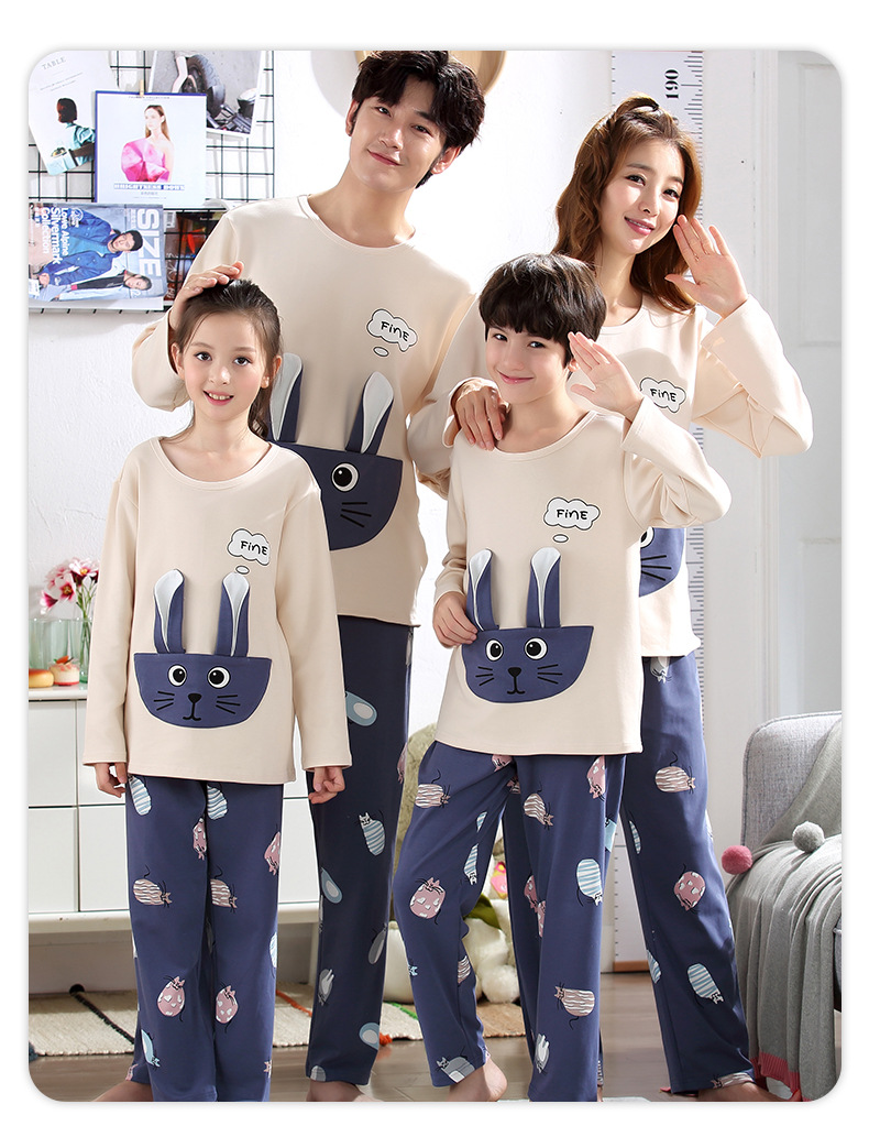 H82e4c84887c3429892245ae6e0023314C - Parent Child Kids Outfits Family Matching dad Mommy and Me Baby Pajamas Sets Sweaters Mother and Daughter Clothes Madre E Hija