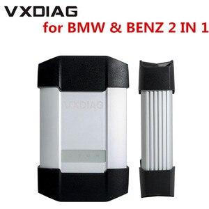 Image 1 - Nuovo VXDIAG Multi Strumento di Diagnostica Per BMW e per il BENZ 2 in 1 Scanner Senza HDD