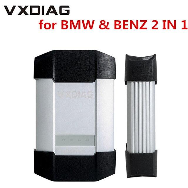 Nuovo VXDIAG Multi Strumento di Diagnostica Per BMW e per il BENZ 2 in 1 Scanner Senza HDD