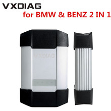 חדש VXDIAG רב כלי אבחון עבור BMW ולנץ 2 ב 1 סורק ללא HDD