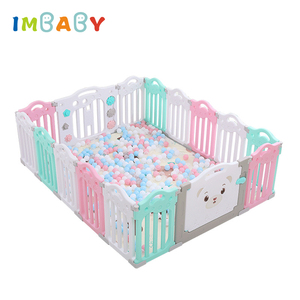 IMBABY New Baby Playpen For Children Dry Pool Balls for Newborn Baby Fence Edible PP Kid Playground Safety Toddler Guardrail Toy