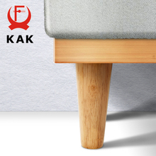 KAK Natural Solid Wood Furniture Leg Table Feets Wooden Cabinet Table Legs Fashion Furniture Hardware Replacement for Sofa Bed cheap KAK-Leg Natural Wood Table Feet Sofa Leg Replacement Bed Feet Cabinet Feet Furniture Legs 8cm - 70cm 1 piece Please contact us