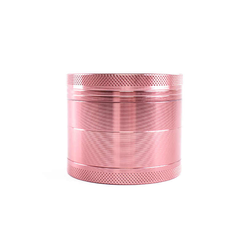 4-layer Aluminum Alloy Herbal Herb Tobacco Grinder Spice Weed Grinders Smoking Pipe Accessories Gold Smoke Cutter