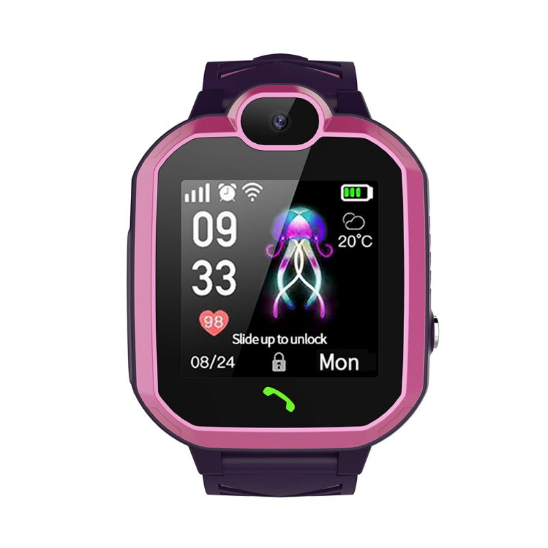 1.4inch Color Touch Screen SOS <font><b>Smart</b></font> Baby <font><b>Watch</b></font> Tracker Anti-lost Monitor <font><b>R7</b></font> Child <font><b>Smart</b></font> <font><b>Watch</b></font> Phone LBS Position Children <font><b>Watch</b></font> image