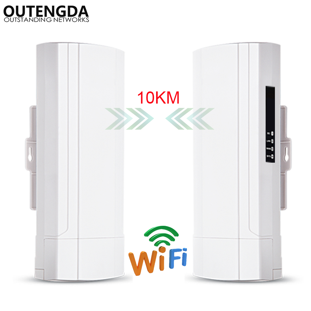 Outdoor WiFi CPE 5G 900M Wireless Wifi Bridge Outdoor CPE Point To Point 10KM CPE Router Repeater Wifi Range Extender 24V POE