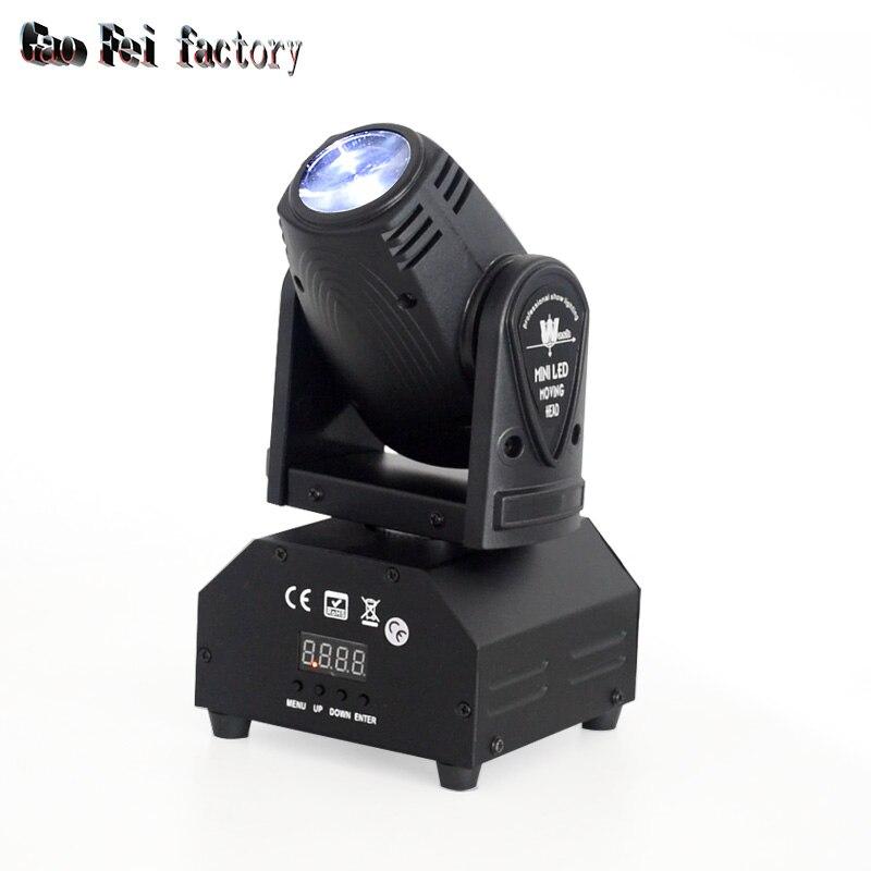 10w Led Spot Moving Head Light / Led Beam Moving Head 10w Light For KTV Club Disco Bar Lighting