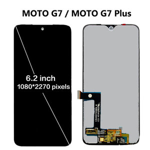 Image 3 - 100% Tested For Motorola Moto G7 XT1962 LCD G7 Play Display Touch Screen Sensor Panel Digiziter Assembly For moto G7 Power LCD