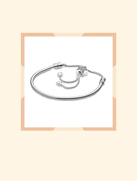 The Latest Version Of The 2019 Fashion Winter Is 100% 925 Silver Sterling Star Bright Zipper Psychiatrist Bracelet With Free