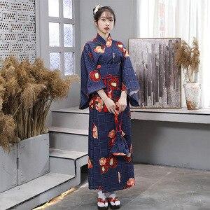 2020 New Arrival Kimono styl japoński dla kobiet Cosplay długa sukienka Sakura Yukata Tutu kawaii dla dziewcząt Anime Cosplay