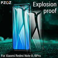 PZOZ Für Xiaomi Redmi Hinweis 8 Pro Screen Protector Volle Abdeckung Gehärtetem Glas Für Xiaomi Redmi Note8 Telefon Schutz Film glas