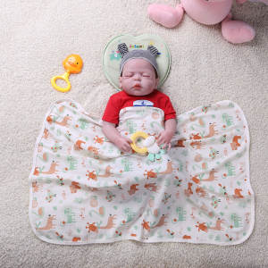 New Newborn Baby Bed Sheet Star Floral Printed Bedding Set for Newborn Crib Sheets Cot