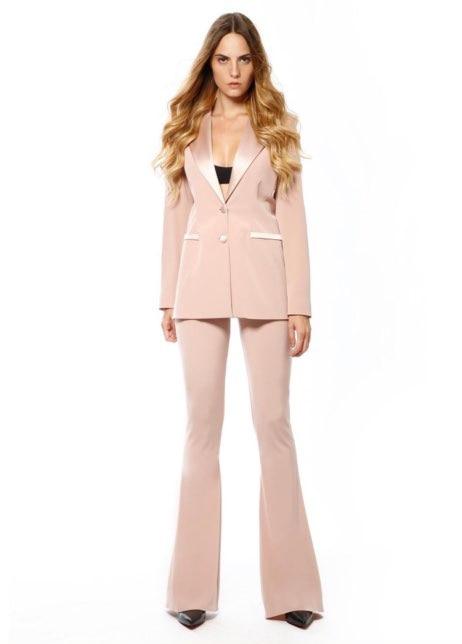 Custom Made Women blazer pants suit Ladies Office Business Tuxedos Formal Work Wear Suits Bespoke jacket trousers 2 pcs set