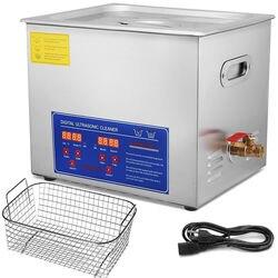 10 litros indústria aquecimento líquidos de limpeza ultrassônicos temporizador digital