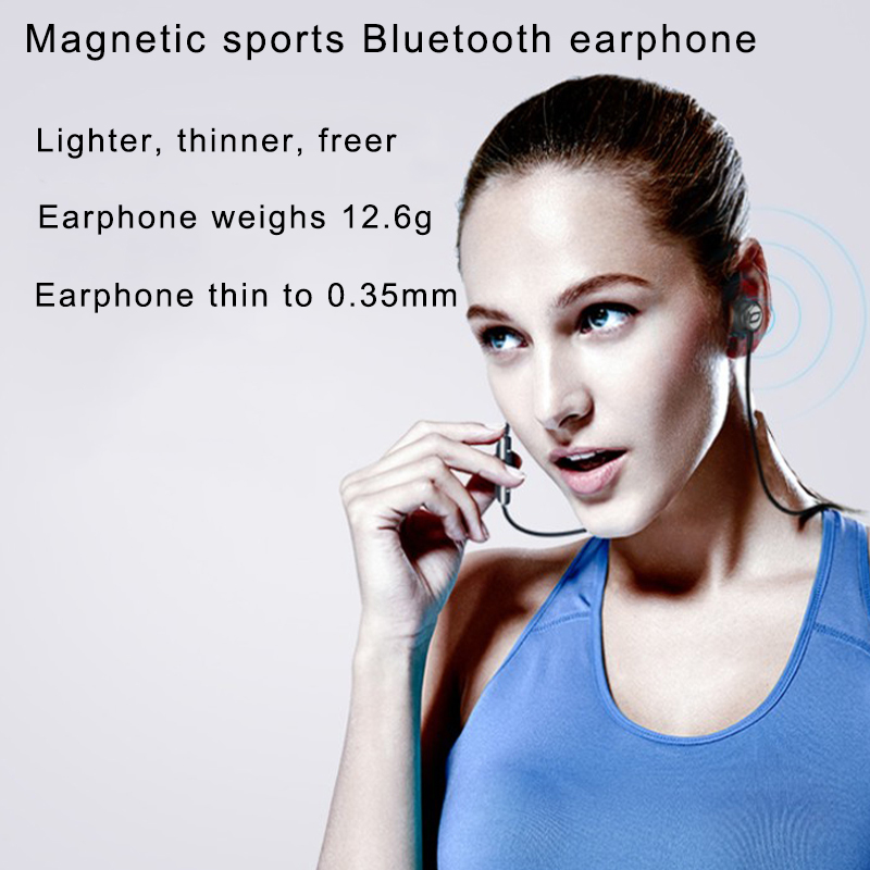 BACH BT01 Sport Bluetooth Earphone Wireless  With Mic Hifi Bluetooth earbud For cell phone