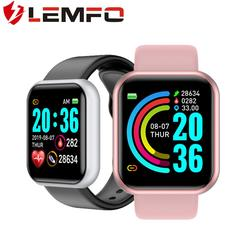 LEMFO Smart Watch 2020 for Men Women Waterproof HD Big Screen Heart Rate Monitoring Sleep Management Smartwatch for Andriod IOS