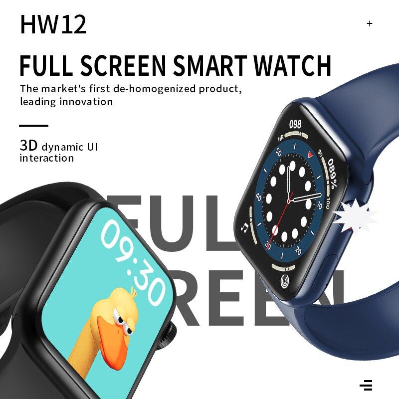 IWO HW12 HW16 Smart Watch 2020 44MM 40MM Women Men Smartwatch with Password Split Full Screen Bluetooth PK IWO 12 Pro FK88 3