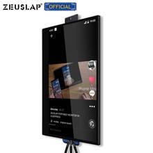 ZEUSLAP Ultra FHD 4K ekran IPS 10 punkt dotykowy przenośny Monitor dla tik tok Camgirl Show na żywo lub gra wideo Streamer