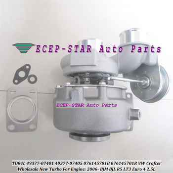Turbo TD04L 49377 07440 49377 07403 076145701L 076145702A Turbocharger For Volkswagen VW Crafter 2006 BJM BJL