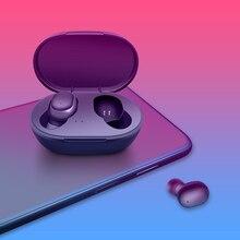 M & J наушники вкладыши TWS Bluetooth наушники 5,0 настоящие Беспроводные наушники с микрофоном громкой связи Bluetooth гарнитура для AI управлением для xiaomi Redmi наушники стерео гарнитура