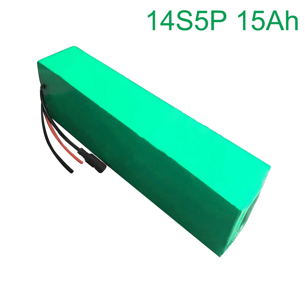 52V 15Ah 14S5P 18650 Li ion Battery Pack E Bike Ebike electric bicycle 280*100*70mm|Replacement Batteries| |  - title=