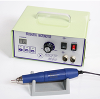 Dental Micromotor Polishing Machine Tools 70000RPM Brushless Unit with Dental Lab Handpiece Jewellery Engraving Micromotor