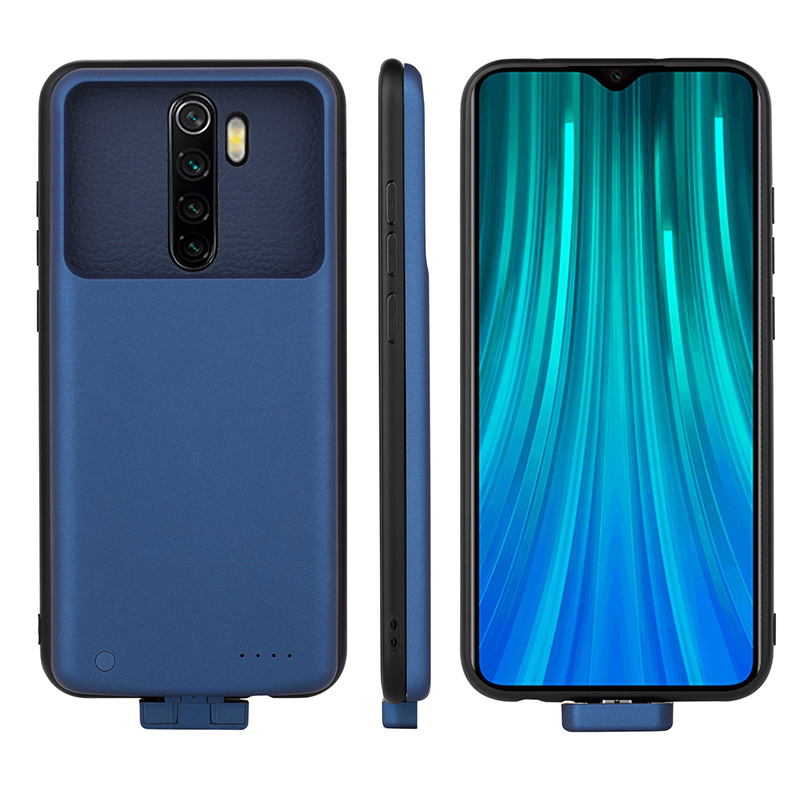 5000mA Battery Charger Case For Xiaomi Redmi Note 8 Pro Battery Case Magnetic Charger Powerbank Case For Redmi Note 8 Note 8 Pro